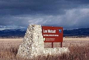 metcalf refuge sign