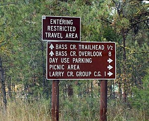 bass creek signs