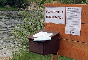 bitterroot river registration box