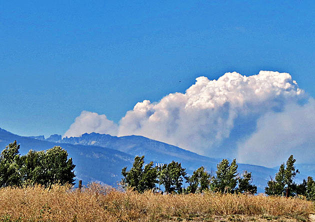 school house and west fork two forest fires