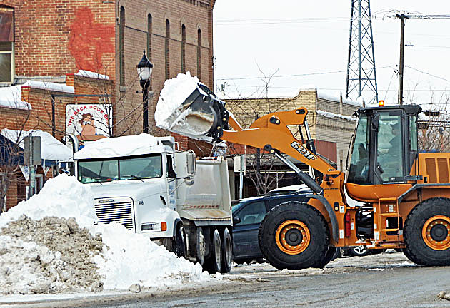 snow disposal